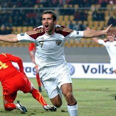 Россия вымучила победу в Скопье