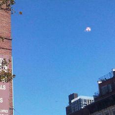 Жителей Манхэттена напугали светящиеся НЛО