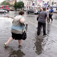 Юг России затопили дожди