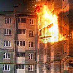 Восемь человек сгорели в пьяном угаре в Омске