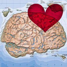 Создана любовная карта мозга