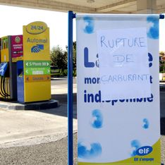 Стачка лишила Францию бензина