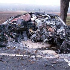 Водитель без рук погиб в аварии