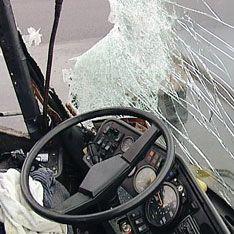 Автобус попал в аварию в Подмосковье