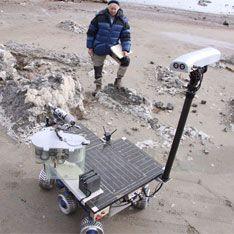 Мертвая зона приютила марсианина