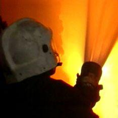 Крупный пожар остановил движение в Подольске