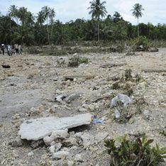 В море смыты десятки деревень