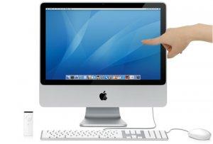 Будущие Apple iMac получат сенсорные экраны?