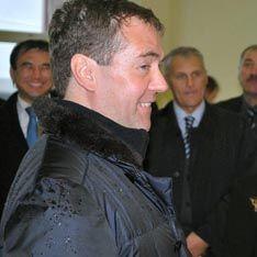 Медведев закупился корюшкой