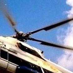 Вертолет ФСБ упал между поселками