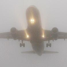 Самолет Нургалиева экстренно сел из-за тумана