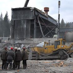 В Магаданской области произошла авария на шахте