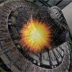 На БАК воссоздали Большой взрыв