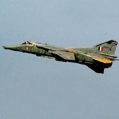 В Индии разбился советский истребитель