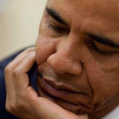 Барака Обаму выгнал вулкан