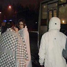 Новорожденных эвакуировали из-за бомбы