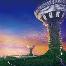 Человечество переселят в плавучие небоскребы
