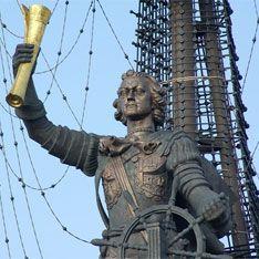 Петр I задержится на Москва-реке