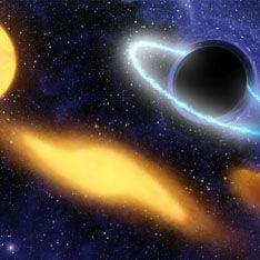 Черная дыра рождается на глазах у землян