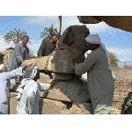 Египет: археологи обнаружили 12 статуй на Аллее Сфинксов