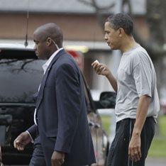 Обаме разбили лицо