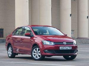 В России провели краш-тест седана VW Polo