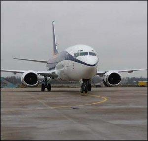 Boeing 767-300 совершил экстренную посадку