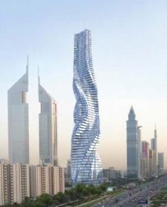 Строительство вращающегося небоскреба начнется в ближайшее время