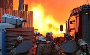 Пожар в Иркутской области